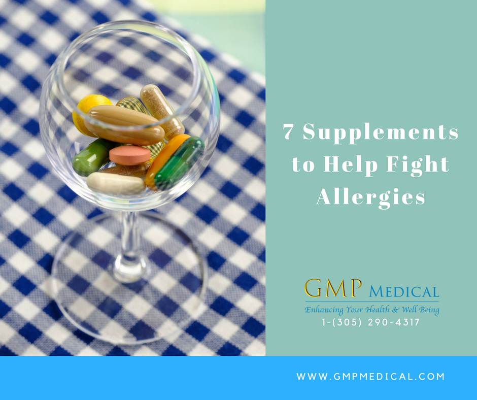 7 Supplements to Help Fight Allergies