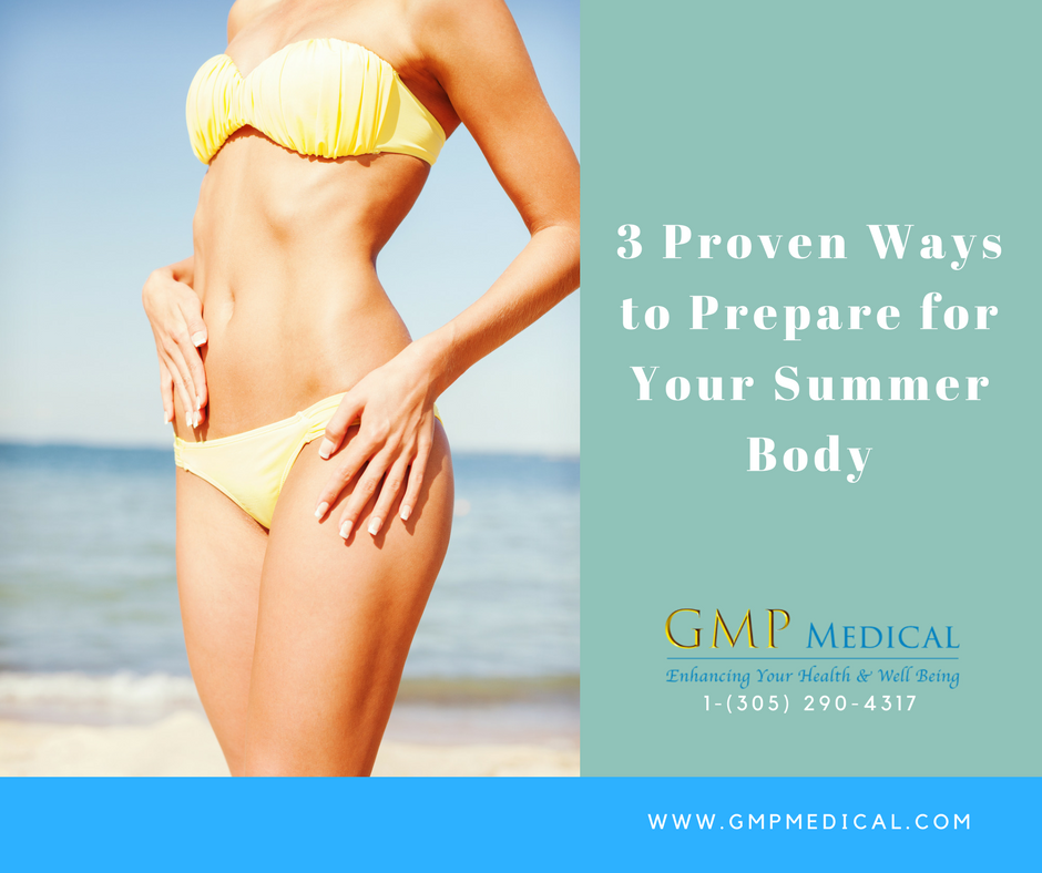 3 Proven Ways to Prepare for Your Summer Body