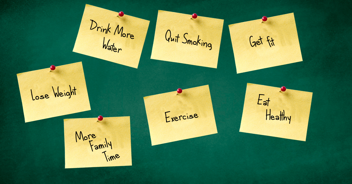 tips for achieving new year's resolutions